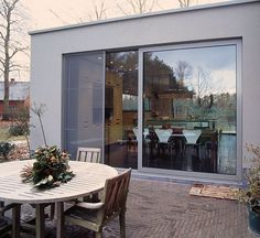 Sliding patio doors from Grabex Windows, Orpington-based manufacturer and installer. Sliding doors in aluminium, timber and uPVC. Visit us in London or Orpington showroom Aluminium Sliding Doors, Sliding Patio Doors, Folding Doors, Grand Entrance, Entrance Doors, Long Room, Sliding Door Design, Composite Door, Modern House Plans
