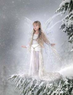 Snow fairy fairy