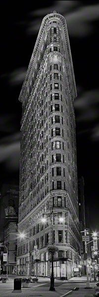 """Flat Iron""  NYC by Peter Lik"