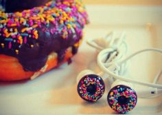This sweet treat is perfect for anyone with a sweet tooth and love of music. Donut headphones are great for all ages.