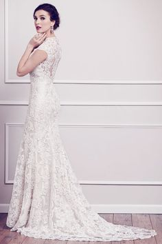 Wedding gown by Kenneth Winston
