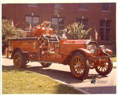 1921 LaFrance Fire Engine