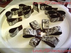 Chocolate bow - must do