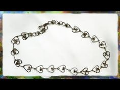 How to make a sterling silver wire necklace. In this video I demonstrate how to construct the beautiful Heart Link necklace, in easy to follow, step by step instructions. My standard wire is .035 sterling silver wire, soft, round, but you can also use 18 gauge nickel silver wire, or experiment with the many wires available at craft stores. The c...