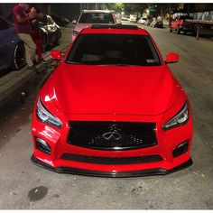 Maquina #SePrendeLaCalle #Q50 #Red By @Vlady809 #OtroLevel #MuyDuro #NoHayForma #Cultura #Racing #Tuning #Fast #Power #Sport #TuningCarDR