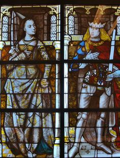 Maximilian I and Mary of Burgundy, London, England. https://hemmahoshilde.wordpress.com/2015/06/25/maximilan-i-of-austria-diamonds-are-forever/ <-- You're welcome to read more about the marriage between Maximilian I of Austria and Mary of Burgundy on my blog :).