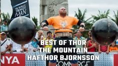 Best of Hafthor Bjornsson THOR The Mountain  | World's Strongest Man Shredded - Episode 1 - YouTube World's Strongest Man, World Records, Thor, Bodybuilding, Mountain, Youtube, Youtubers, Youtube Movies, Build Muscle