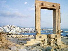 Colossus of Naxos, Greece. Difficult to get there.