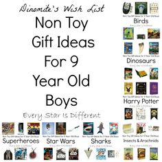 Every Star Is Different: Non Toy Gift Ideas for 9 Year Old Boys