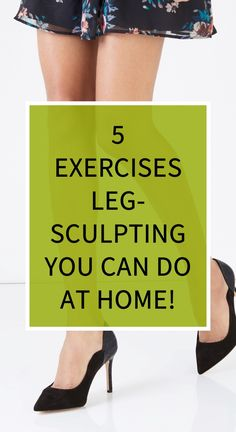 5 Exercises Leg-Sculpting You Can Do At Home! - Fitness and Exercises, Outdoor Sport and Winter Sport Natural Cold Remedies, Herbal Remedies, Health And Wellness, Health Tips, Health Care, Remedy Spa, Acid Reflux Remedies, Underactive Thyroid, Health Vitamins