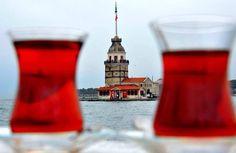 Maiden Tower, Istanbul & Turkish tea