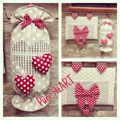 Fabric Crafts, Sewing Crafts, Sewing Projects, Craft Projects, Projects To Try, Plastic Bag Holders, Towel Crafts, Easy Diy Crafts, Sewing For Kids