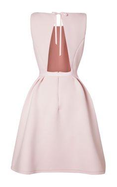 Neoprene Tea Dress by Katie Ermilio - Moda Operandi