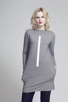 FNDLK mikinošaty 66 RVL_dark-grey_bambus Fashion Labels, Dark Grey, Lounge Wear, High Neck Dress, My Style, Dresses, Bamboo, Turtleneck Dress, Gowns