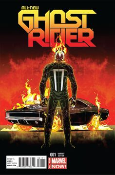 All-New Ghost Rider #1 - Engines of Vengeance, Part 1 May 2014. Robbie Reyes and his Dodge Charger assume the mantle of the Ghost Rider.
