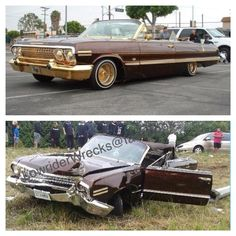 . Crying Shame, Old Vintage Cars, Car Fix, Rusty Cars, Car Crash, Cool Trucks, Impala, Car Pictures, Cars For Sale