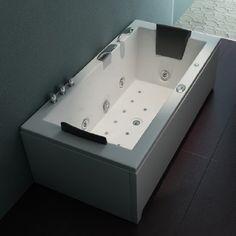 Whirlpool Torino  182x90cm Bad, Bathtub, Indoor, Design, Light Therapy, Ad Home, Standing Bath, Interior, Bathtubs