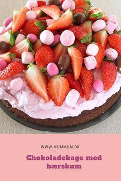 Fruit Recipes, Baking Recipes, Cake Recipes, Snack Recipes, Dessert Recipes, Delicious Desserts, Yummy Food, Funny Cake, Swedish Recipes