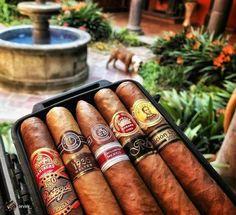 Cigars & Whiskeys - Line up goals! Whisky, Cigars And Whiskey, Cigar Humidor, Cigar Boxes, Like A Sir, Cigar Art, Man Page, Cigar Club, Premium Cigars