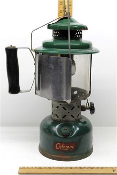 1953 Vintage Coleman Lantern Man Up Pinterest