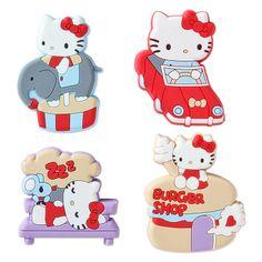 Hello Kitty Rubber Clip Set (amusement park) Sanrio online shop - official mail order site