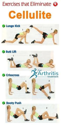 Exercises That Eliminte Cellulite