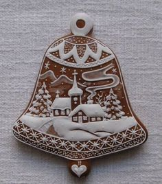Today we are looking at Moravian and Bohemian gingerbread designs from the Czech Republic. Back home, gingerbread is eaten year round and beautifully decorated cookies are given on all occasions. Fancy Cookies, Cute Cookies, Holiday Cookies, Cupcake Cookies, Christmas Goodies, Christmas Desserts, Christmas Treats, Christmas Baking, Christmas Gingerbread House