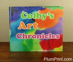 Colby's watercolor makes a wonderful cover!