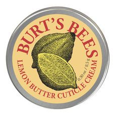 Lemon Butter Cuticle Cream by Burt's Bees This is a modern day miracle. I have huge cuticle issues and this is my only saving grace!