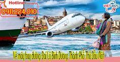 Vé máy bay đường Đại Lộ Bình Dương Thành Phố Thủ Dầu Một tỉnh Bình Dương