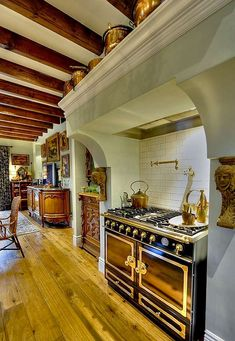 """Newly constructed Arcadia French Country home has been on the cover of """"Phoenix Home & Garden"""" magazine, fantastic kitchen"""