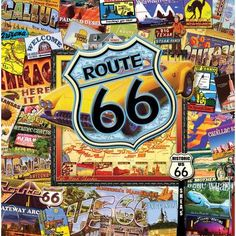 Thirstystone Route 66 II Occasions Coasters Set