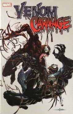 What's worse than one mayhem-producing symbiote? Two. What's worse than that? Three. That's right: Venom's offspring, Carnage, is about to have a baby itself - a creature of indescribable power and ap