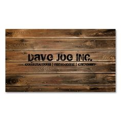grunge wood texture Construction Carpentry Double-Sided Standard Business Cards (Pack Of 100). This is a fully customizable business card and available on several paper types for your needs. You can upload your own image or use the image as is. Just click this template to get started!