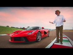 James May takes a spin in the La Ferrari but is it the most exciting and fastest road car that Ferrari has ever made? From Top Gear, Series 22 Episode Sub. Cool Sports Cars, Super Sport Cars, Super Cars, Sexy Cars, Hot Cars, Pagani Zonda R, Top Gear Bbc, Aston Martin Vulcan, Car Facts