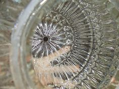 how to clean glass pieces to really make them sparkle - great for thrift or garage-sale finds of intricate glass that would be difficult to clean by hand - from worthwhiledomicil...
