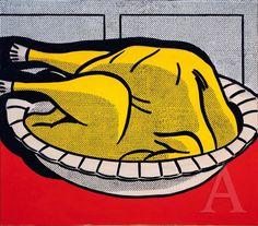 Roy Lichtenstein Turkey, 1961