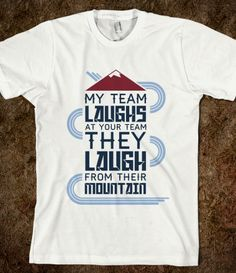 Colorado Avalanche tee shirt ♥ it Hockey Party 441069b80
