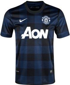 1a30e140fcd Soccer Jerseys · Manchester United Away Kit 13 14 Nike Manchester United  Soccer