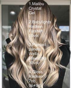 20 Inspiring Blonde Balayage Hair Ideas for 2019 - Style My Hairs Caramel Brown Hair, Brown Blonde Hair, Light Brown Hair, Medium Blonde, Neutral Blonde, Hair Color And Cut, Brown Hair Colors, Hair Color Formulas, Redken Color Formulas