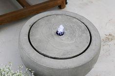 Upea suihkulähde / vesiaihe pihalle, patiolle, terassille. Patio, Terrace