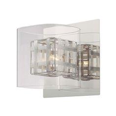 Kovacs Jewel Box chrome one-light fixture $64