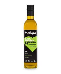 Mr Hugh's Basil Infused Rapeseed Oil