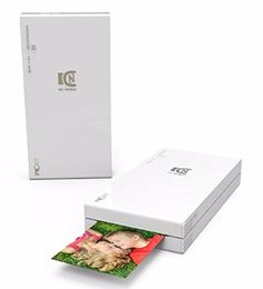 Introducing Pickit M2 Portable Real Photo Printer  WiFi and NFC Compatible with iOS and Android Devices White  20 Cartridge Included. Great product and follow us for more updates!