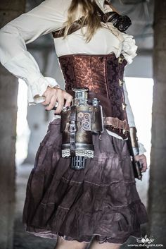 Shira Ganani - her own idea and creation!! OMG פורים 2016, steampunk style | Evenyaru