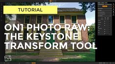 Tutorial - The Keystone Transform Tool — Scott Davenport Photography