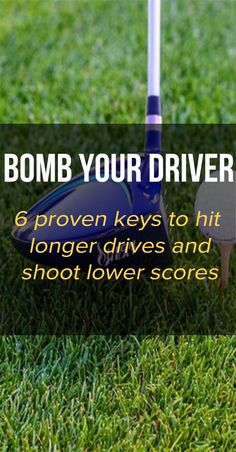 Golf Discover The Complete Guide to Maximizing Driver Distance Imagine hitting your driver further and making the game of golf easier. Learn 6 proven keys to hit longer drives and shoot lower scores. Get maximum distance today! Tips And Tricks, Golf 6, Play Golf, Kids Golf, Golf Putting Tips, Golf Club Grips, Best Golf Clubs, Golf Practice, Golf Drivers