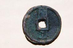 Zheng Tong Bao' (至正通寶) 10 cash <b>coin</b>, cast by <b>Emperor</b> <b>Huizong</b> ...