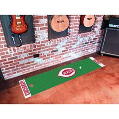 Cincinnati Reds MLB Putting Green Runner (18x72)