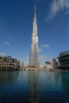 world's tallest building...taking a speed elevator to the top